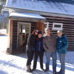 The Willets and Cassidy on New Years Day