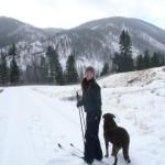 My favorite adventure buddy, and her sidekick, Alta