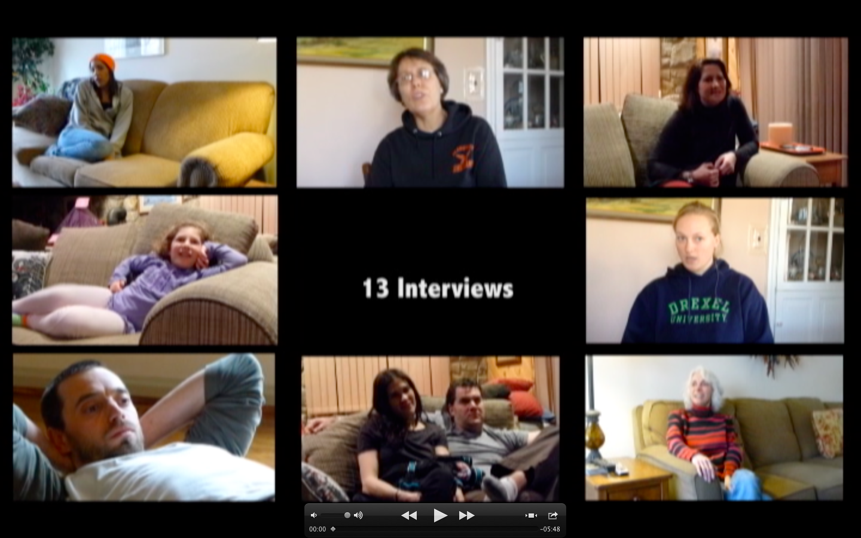 13 interviews video - on the horizon line blog
