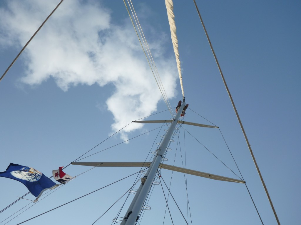 sailing panama canal crossing - shelter bay marina - on the horizon line blog