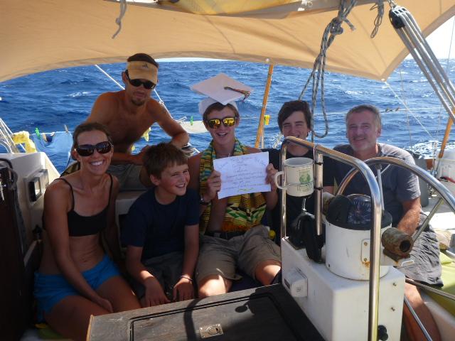 on the horizon line blog sailing pacific graduation at sea
