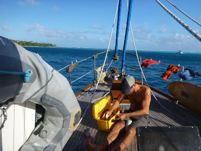 rob dinghy repair