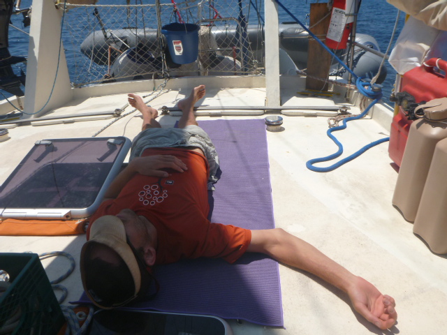 rob roberts brianna randall travel sailing blog on the horizon line