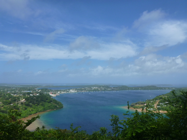 neiafu harbor from mount talau