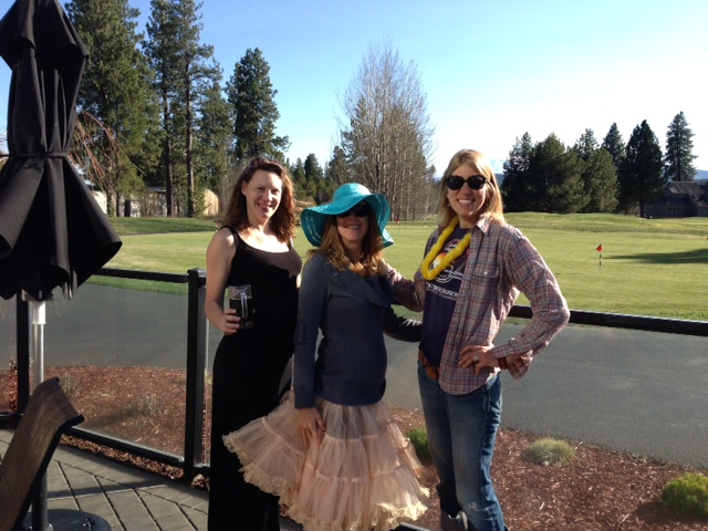 Pregnant ladies at a bachelorette party in Bend - On the Horizon Line Blog - Brianna Randall