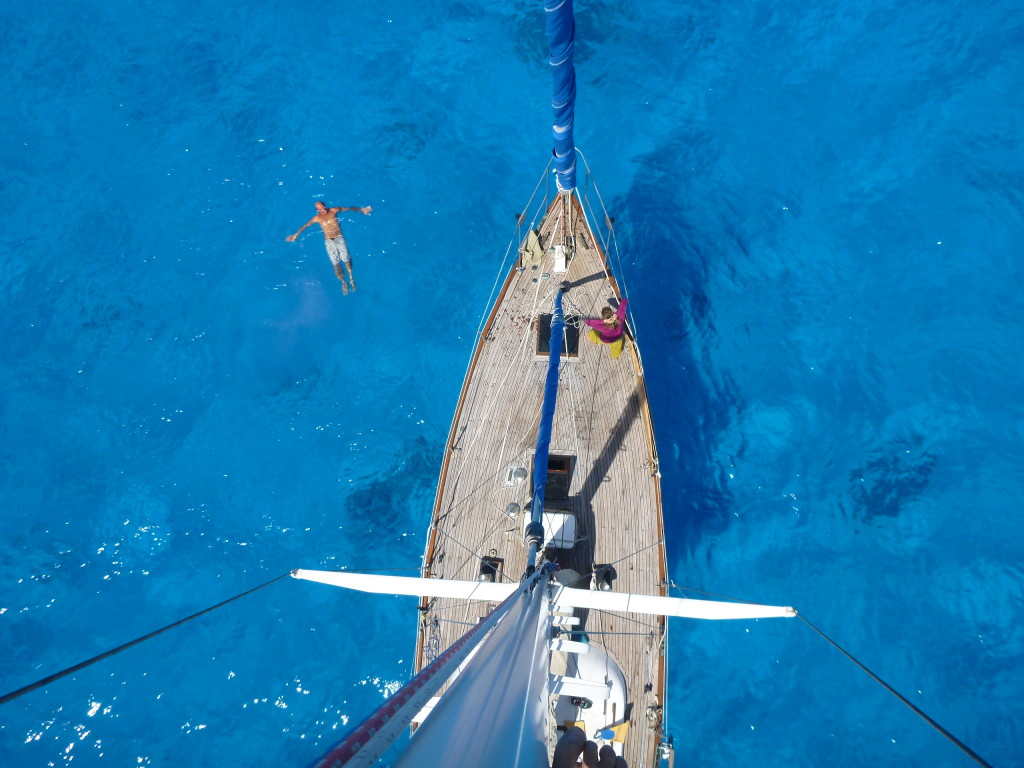 from the top of the mast at beveridge reef aboard compass rosey - last sailboat we crewed on to tonga.jpg