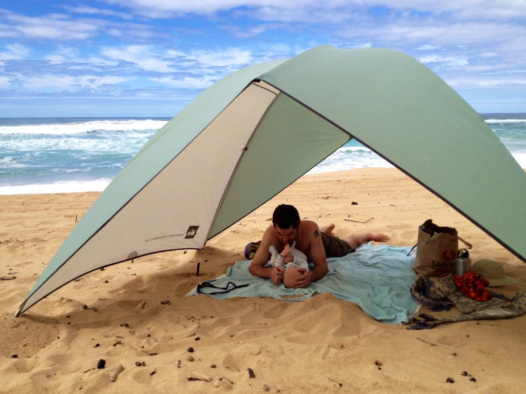 camping with kids in kauai