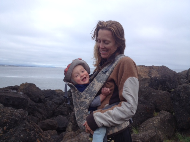talon and brianna randall on oregon coast - adventures in parenting