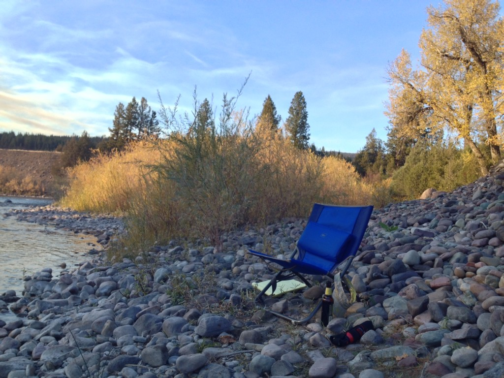 camping on blackfoot river brianna randall